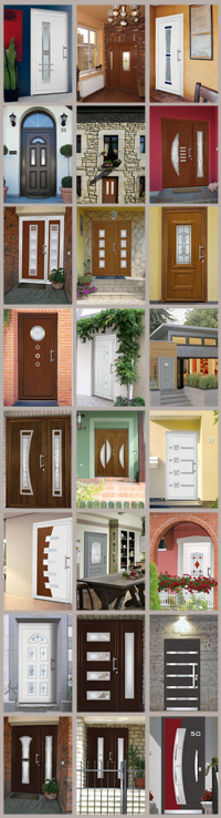 Vchodové dvere VIZUAL - galéria